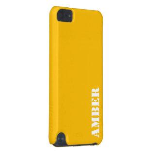 こはく色 iPod TOUCH 5G ケース