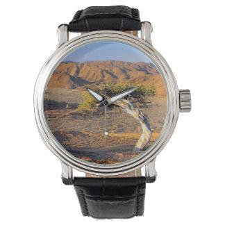 こぶだらけの木および砂漠の土地、Richtersveld 腕時計