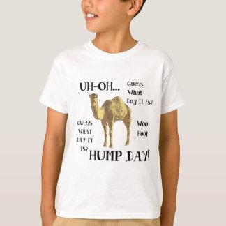 こぶ日のラクダ Tシャツ