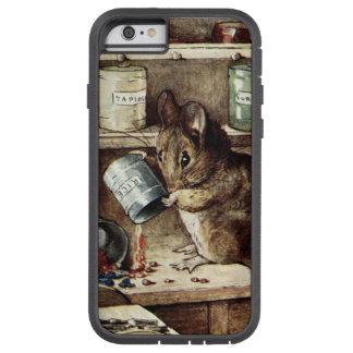 こぼします米(ベアトリックスの陶工による2つの悪いネズミ)を TOUGH XTREME iPhone 6 ケース