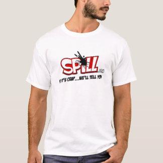 こぼれのロゴのTシャツ Tシャツ