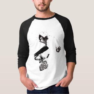 こぼれのRaglanのTシャツ Tシャツ