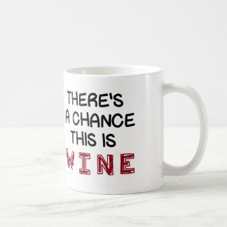 これがワインのチャンスがあります コーヒーマグカップ
