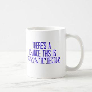 これが水のチャンスがあります コーヒーマグカップ