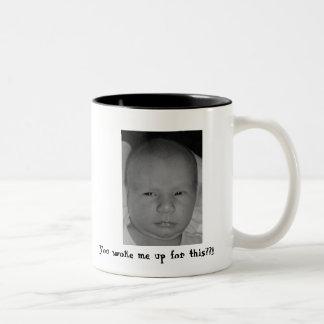 これのために私をか。か。目覚めさせました!! ツートーンマグカップ