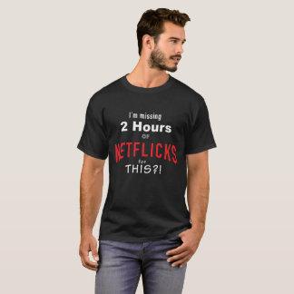 これのための行方不明のテレビか。 Tシャツ
