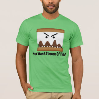 これのS'moreがほしいと思いますか。 Tシャツ