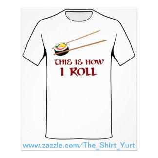 これはいかにIの寿司ロールです チラシ