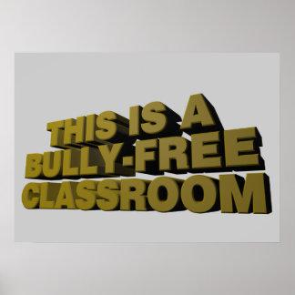 これはいじめっ子なしの教室です ポスター