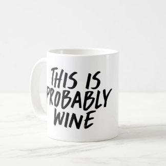 これはおそらくワインのコーヒー・マグです コーヒーマグカップ