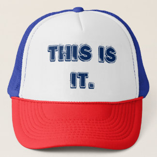 """""""これはそれ""""トラック運転手の帽子です キャップ"""