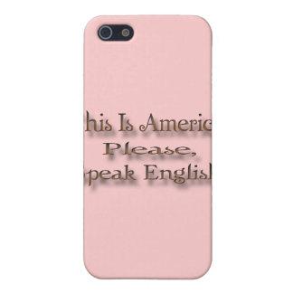 これはアメリカ話します英語をです iPhone 5 CASE