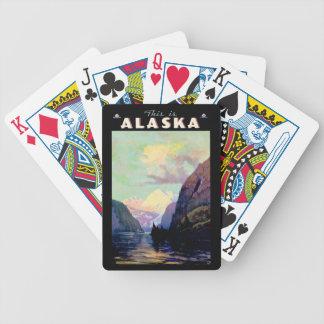 これはアラスカです バイスクルトランプ