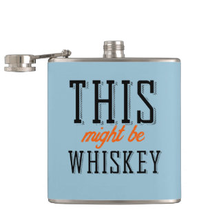 これはウィスキーであるかもしれません フラスク