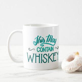 これはウィスキーのマグを含むかもしれません コーヒーマグカップ