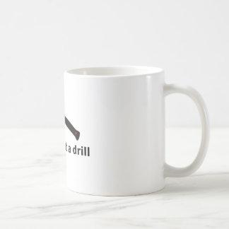 これはドリルではないです コーヒーマグカップ