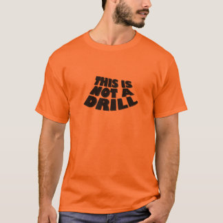 これはドリルではないです Tシャツ