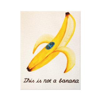 これはバナナではないです キャンバスプリント