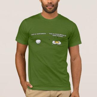 これはメロドラマのTシャツのあなたの頭脳です Tシャツ
