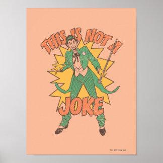 これは冗談ではないです ポスター