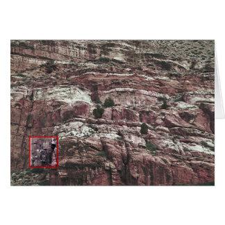 これは岩石彫刻シリーズ、源があるところです カード