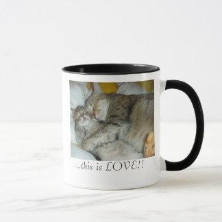 これは愛、…これです愛です!! マグカップ