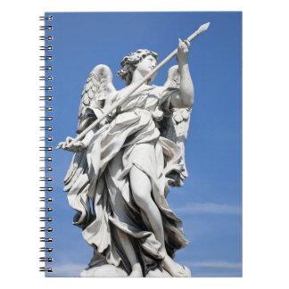 これは有名な2の天使の彫像の1つです ノートブック