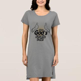 これは神のお気に入りのなTシャツ- .PNGです ドレス