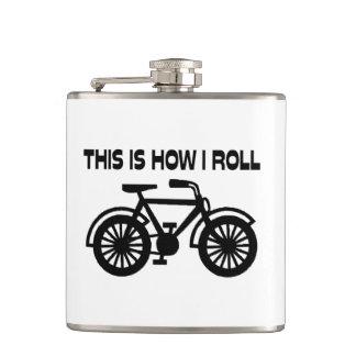 これは私が自転車をいかに転がるかです フラスク