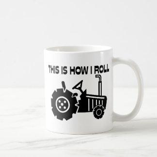 これは私が農業トラクターをいかに転がるかです コーヒーマグカップ