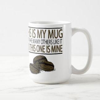 これは私のマグ…です コーヒーマグカップ