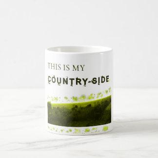 これは私の田舎です コーヒーマグカップ