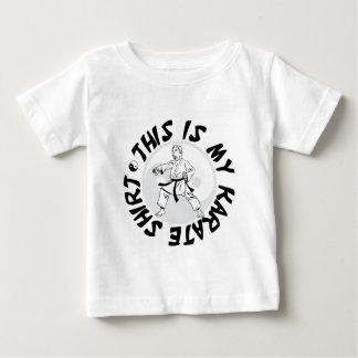 これは私の空手のワイシャツです ベビーTシャツ