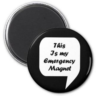 「これは私の緊急のMagnetです マグネット