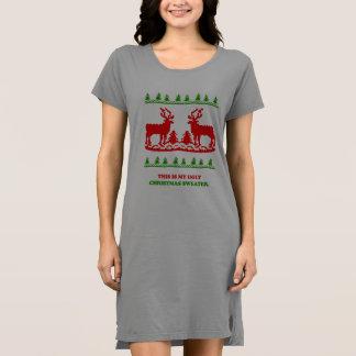 これは私の醜いクリスマスのセーターです ドレス