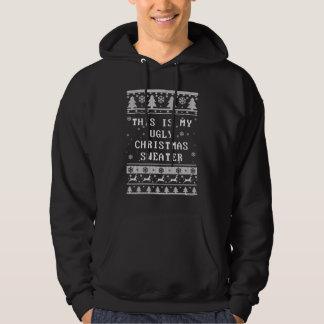 これは私の醜いクリスマスのセーターです パーカ