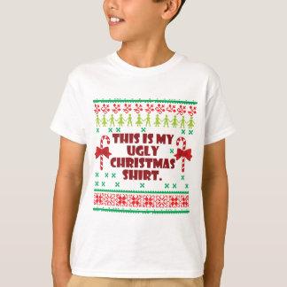 これは私の醜いクリスマスのワイシャツです Tシャツ