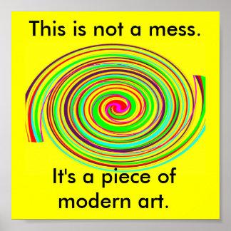 これは近代美術です ポスター