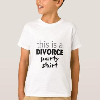 これは離婚のパーティーshirt.pngです tシャツ