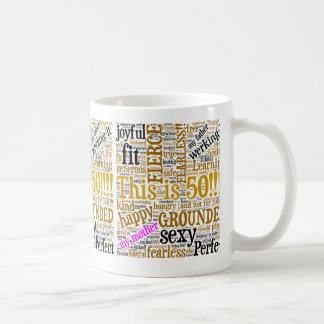 これは50です! コーヒーマグカップ