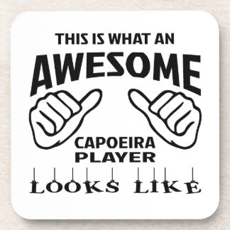 これはCapoeiraなんと素晴らしいプレーヤーのように見えるかです コースター