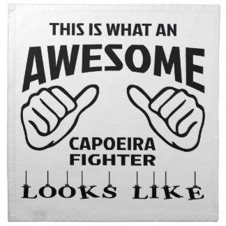これはCapoeiraのなんと素晴らしい戦闘機likを見るかです ナプキンクロス