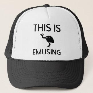 これはEmusingです キャップ