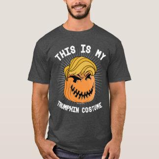これはTrumpkinの私の衣裳です-ハロウィンを素晴らしくさせて下さい Tシャツ