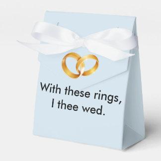 これらのリングや輪Iのtheeによって結婚して下さい