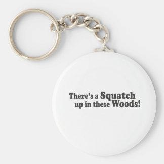 これらの森にSquatchがあります! 多数の突き棒 キーホルダー