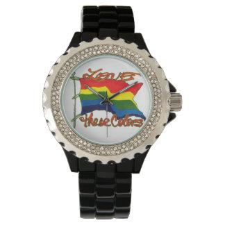 これらの色を愛して下さい 腕時計