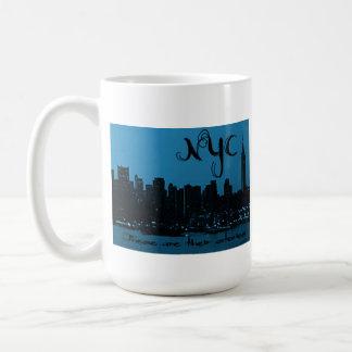 これらは物語のマグNYCです コーヒーマグカップ