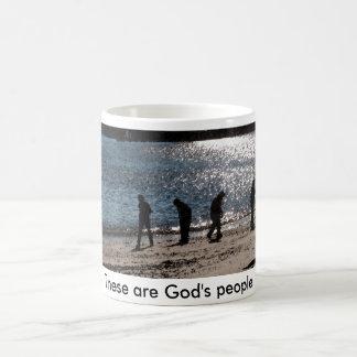 これらは神の人々です コーヒーマグカップ
