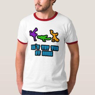 これを家庭で試みないで下さい Tシャツ